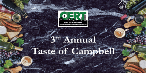 3rd Annual Taste of Campbell Fundraiser