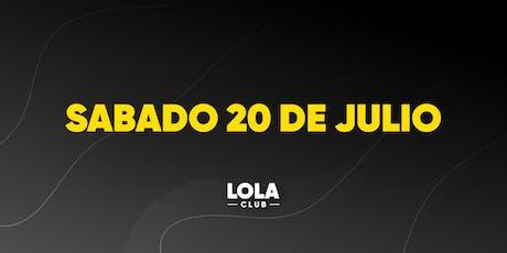 Lola Club entradas