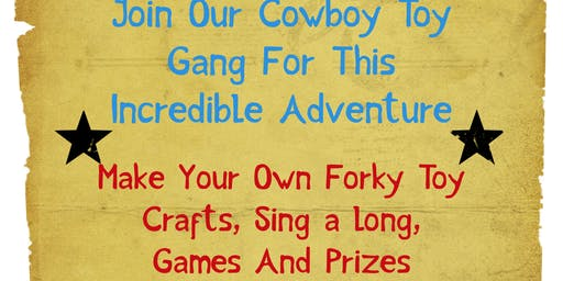 Forky Making With The Cowboy Gang half price first 20 sold!!
