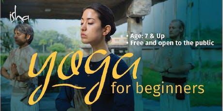 ISHA Upa Yoga - Yoga for Beginners tickets