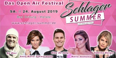 Schlager Summer - Das Open Air Festival Tickets