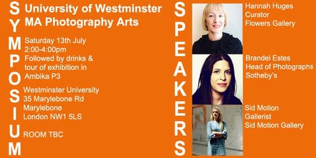 Westminster MA Photography Arts Symposium tickets