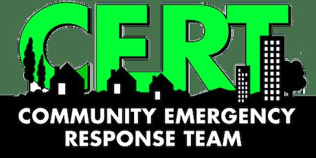 Community Emergency Response Team (CERT) Academy / Saratoga tickets