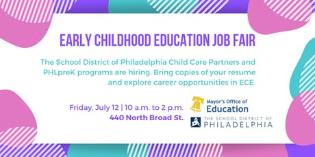 Early Childhood Education Job Fair tickets