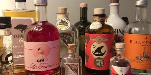 """Gin-Tasting """"Am Tor zur Welt"""""""