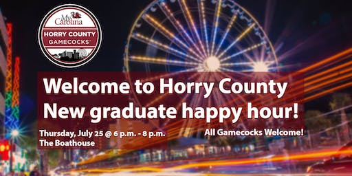 Welcome to Horry County New Graduate Happy Hour!