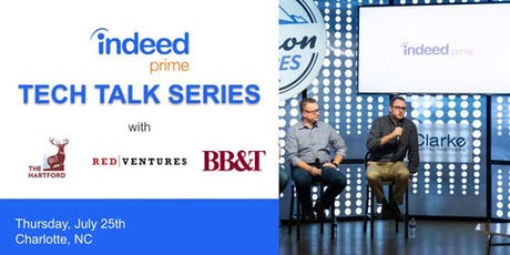 Indeed Prime Tech Talk Series: Charlotte tickets