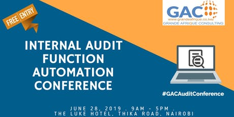 Internal Audit Automation Conference tickets