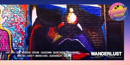 Sunday Groove - Hip hop OPEN AIR - 16h/6h au Wanderlust