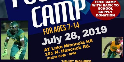 Lake Minneola HS Youth Football Camp