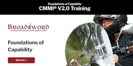 CMMI V2.0 Training: Foundations of Capability + Building DEV Excellence - Miami, FL