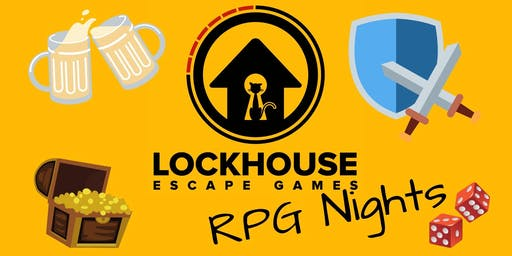 Monday 5th August RPG Night!