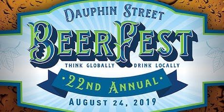 Dauphin Street BeerFest 2019 Starting at Bob's Downtown Diner tickets