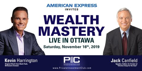 Wealth Mastery with Jack Canfield & Kevin Harrington tickets