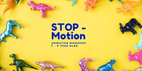 Stop-Motion Animation 7 - 9 Year Olds tickets