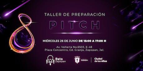 Pitch, taller de presentación boletos