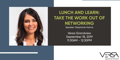 Take the Work Out of Networking tickets