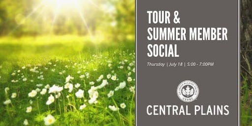 Central Plains TOUR and Summer Member Social at Hybrid Cube