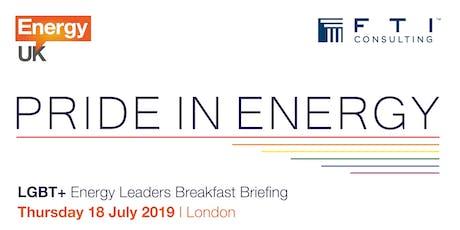 Breakfast Briefing: LGBT+ Leadership in the Energy Sector tickets