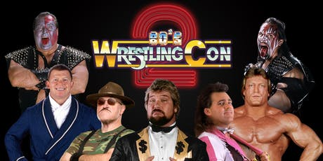 80's Wrestling Con 2 tickets