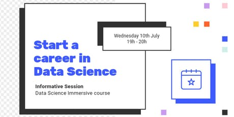 INFO SESSION: How to shift to a career in Data Science tickets