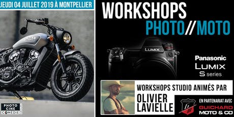 Workshops Photo//Moto PANASONIC - Animés par Olivier Lavielle billets