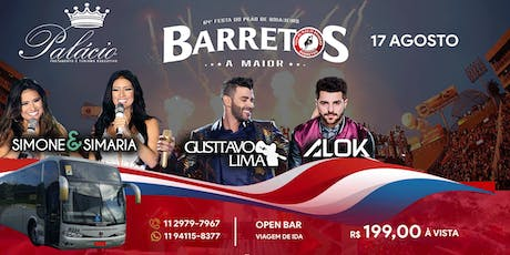 Excursão Rodeio Barretos 2019 Open bar (Ida) - Transporte Ida e Volta ingressos