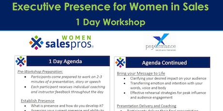 Executive Presence for Women in Sales - Denver tickets