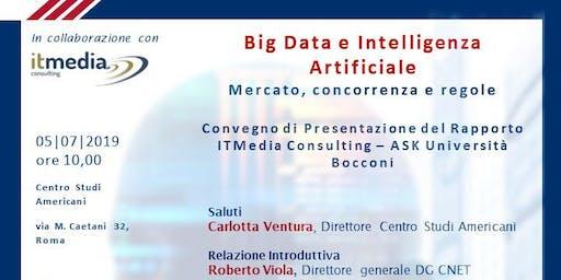 Big Data e Intelligenza Artificiale