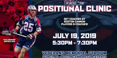 Boston Cannons Positional Clinic  tickets