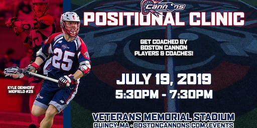 Boston Cannons Positional Clinic