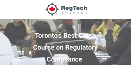 Career training in Compliance, AML, Risk Management and RegTech tickets