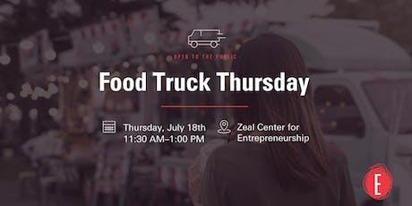 Food Truck Thursday @ Zeal tickets