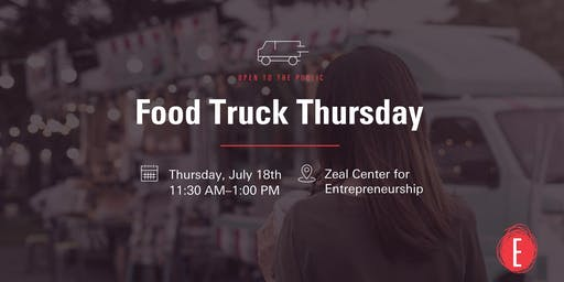 Food Truck Thursday @ Zeal