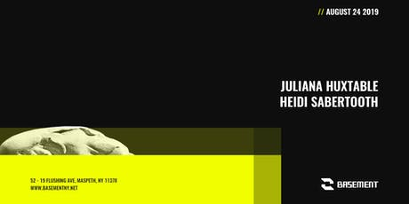Juliana Huxtable / Heidi Sabertooth tickets