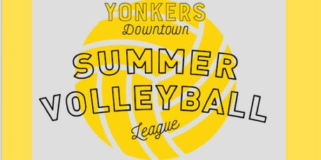 Yonkers Downtown Summer Volleyball League  tickets