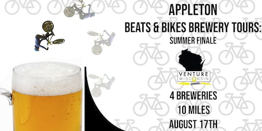 Beat's & Bikes Brewery Tours Final Appleton Ride