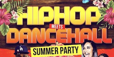 Hip-Hop Meets Dancehall Summer Party tickets