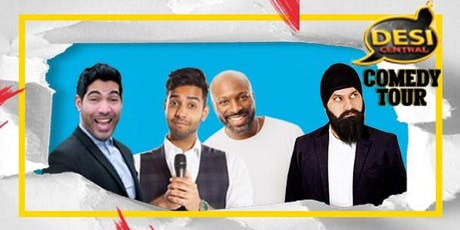Desi Central Comedy Show : Slough tickets