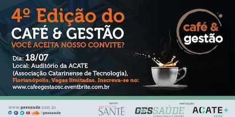 Café e Gestão Floripa ingressos