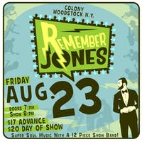 Remember Jones - Super Soul Music with a 12 Piece Show Band!