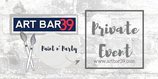 Private Traveling Art Bar Party | Kelsey Huls