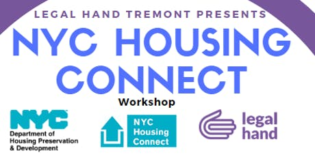 NYC Housing Connect - Legal Hand Tremont tickets