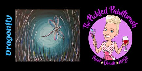 Painting Class - Dragonfly - June 27, 2019 tickets