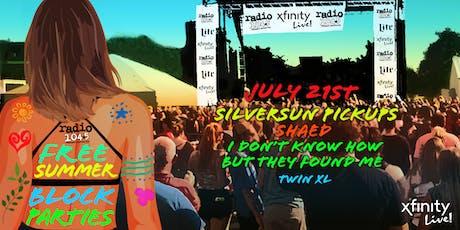 Radio 104.5 Summer Block Party 7/21 tickets