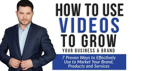 Marketing & Branding: How To Use Videos To Explode Sales In Your Business tickets