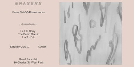 Erasers 'Pulse Points' Album Launch tickets