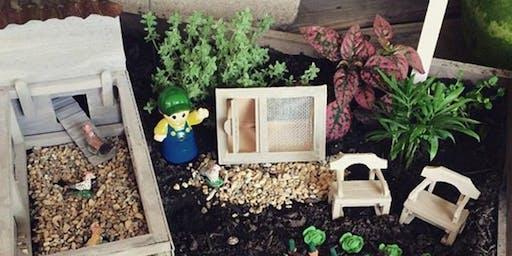 Kids Miniature Gardening Workshop