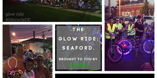 The Glow Ride: Seaford, by Lifecycle.