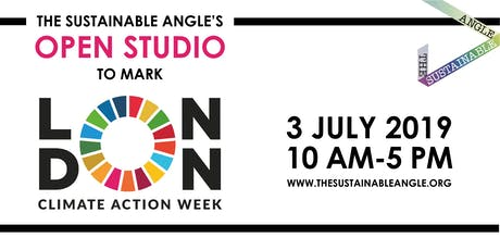 The Sustainable Angle's Open Studio to mark London Climate Action Week tickets